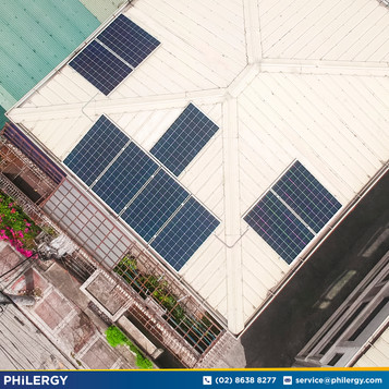 2.75 kWp grid-tied solar system in Quezon City - Philippines best solar supplier PHILERGY