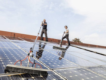 Professional Solar Panel Cleaning Service in the Philippines