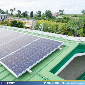 High-quality German solar panel installation for homes and businesses in the Philippines by PHILERGY