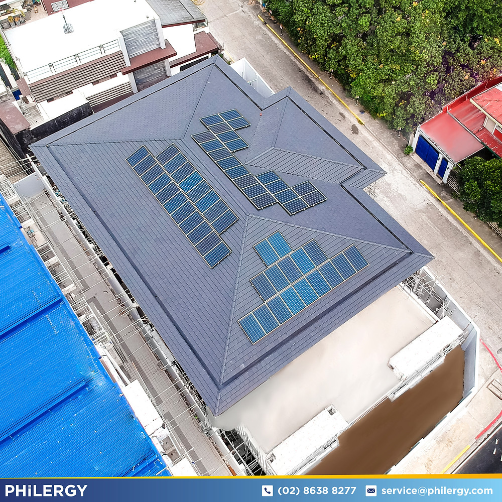 PHILERGY German Solar for homes and businesses  - 16-5kwp for Mandaluyong Home - High quality installer for solar power systems and top rated panel packages for residential, commercial and industrial roofs in the Philippines