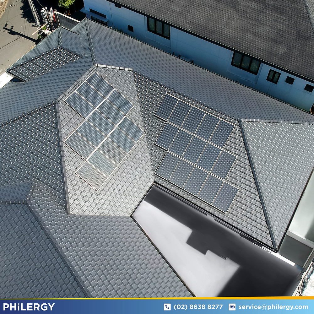 PHILERGY German Solar for homes and businesses  - 8-4kwp for Quezon City Home - High quality installer for solar power systems and top rated panel packages for residential, commercial and industrial roofs in the Philippines