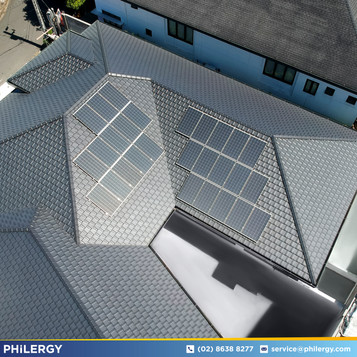8.4 kWp grid-tied solar system for Tierra Pura, Quezon City home - PHILERGY German Solar