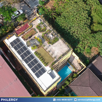 7.32 kWp grid-tied solar system in Loyola Grand Villas, Quezon City - PHILERGY German Solar