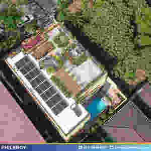 PHILERGY German Solar for homes and businesses  - 7kwp gridtied for Quezon City home - High quality installer for solar power systems and top rated panel packages for residential, commercial and industrial roofs in the Philippines