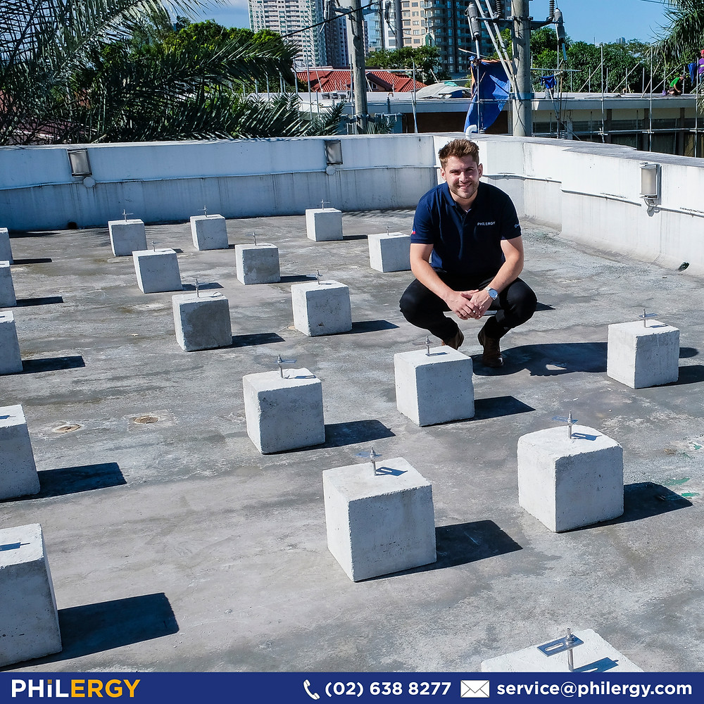 PHILERGY German Solar for homes and businesses  - Mounting Solution for Concrete Roofs - High quality installer for solar power systems and top rated panel packages for residential, commercial and industrial roofs in the Philippines