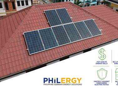 PHILERGY German Solar to beat increased electricity rates 2018