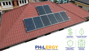PHILERGY German Solar for homes and businesses  - Net Metering to Save Thousands - High quality installer for solar power systems and top rated panel packages for residential, commercial and industrial roofs in the Philippines
