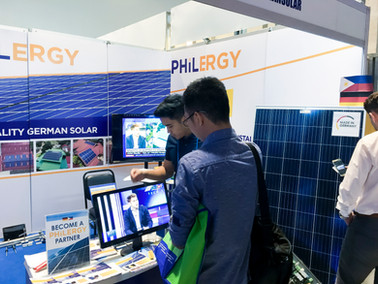 PHILERGY German Solar at the United Architects of the Philippines' CONEX 2018