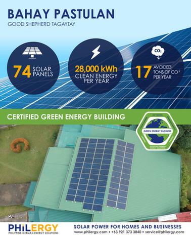 PHILERGY German Solar Power for Good Shepherd Tagaytay