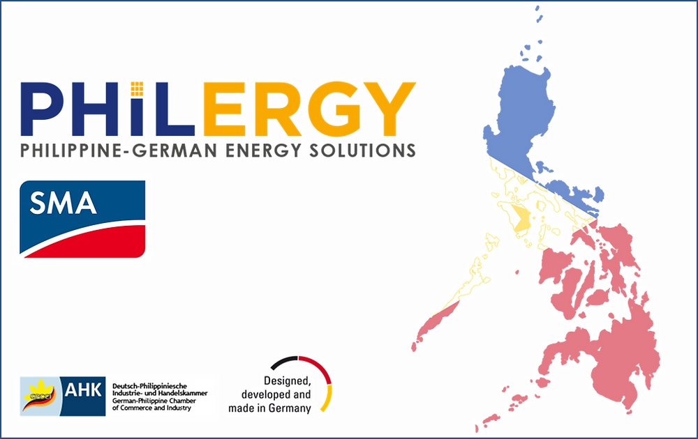 PHILERGY German Solar for homes and businesses  - Supplies Best Solar Inverter SMA - High quality installer for solar power systems and top rated panel packages for residential, commercial and industrial roofs in the Philippines