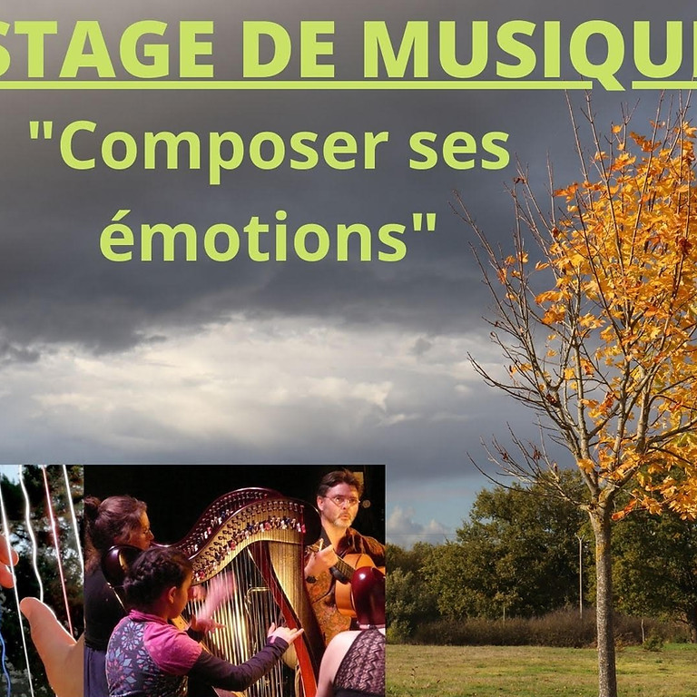 """Stage """"Composer ses émotions!"""""""