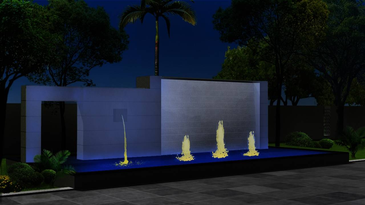 Sanaya Energy LLP Facade lighting Goa