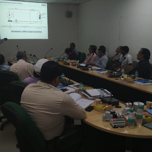 One day training on Lightning Protection Systems at RDSO Lucknow