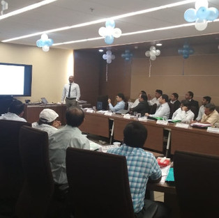 One day seminar at Railtel,New Delhi on Lightening Protection and Surge Protection of Railway Signaling and Communication Systems