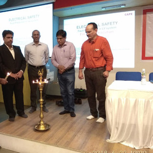 One day seminar on electrical safety for GUVNL and gujarat state EI at Ahmedabad