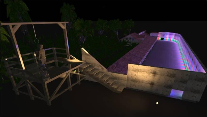 Sanaya Energy  stage lighting (4)