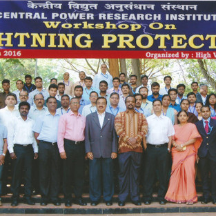 One day workshop on Lightning Protection at CPRI Bangalore