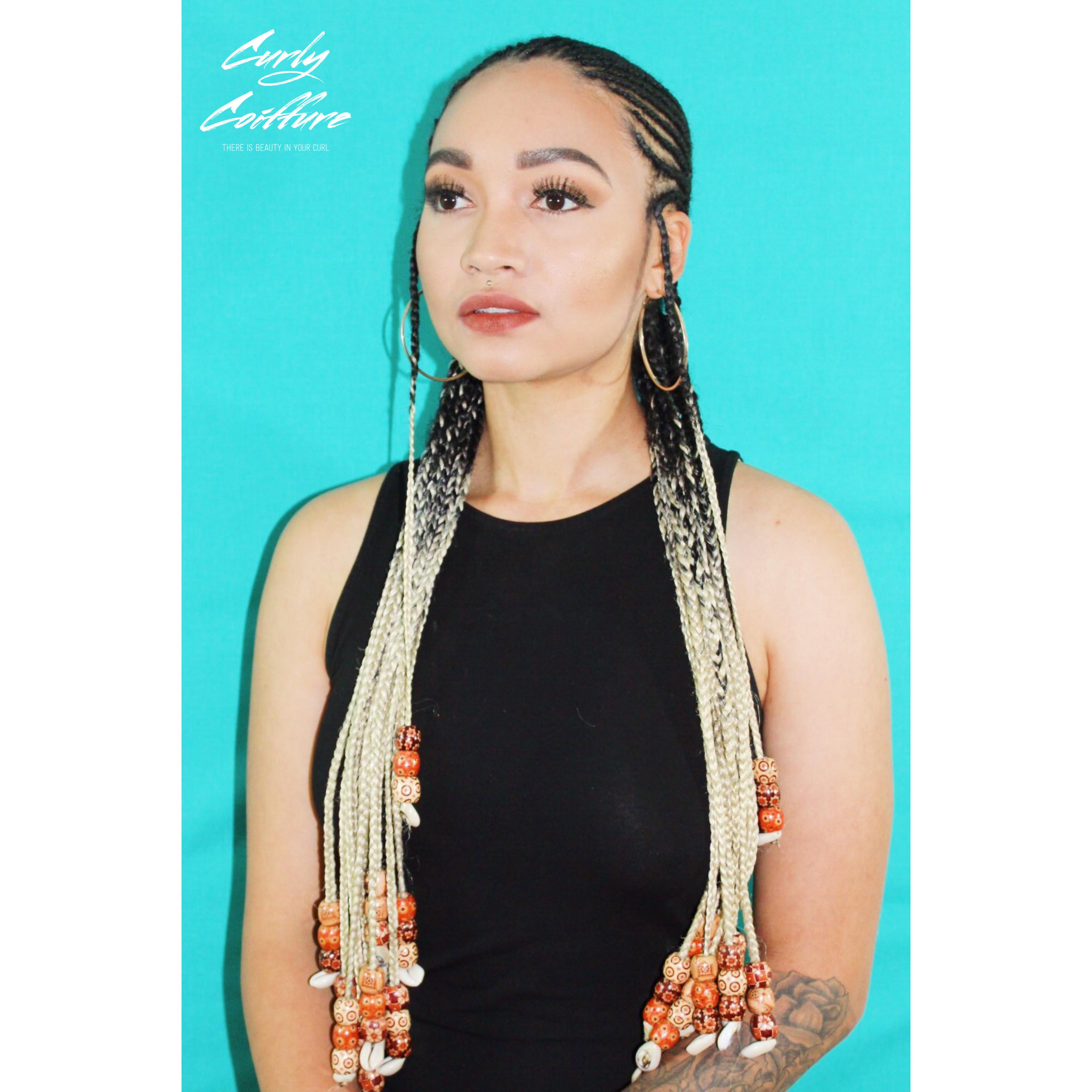Tribal Braids & Box Braids