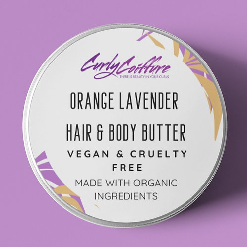 8 Oz Orange Lavender Whipped Butter