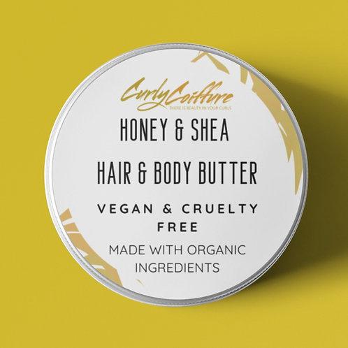 8 oz Shea Honey Butter