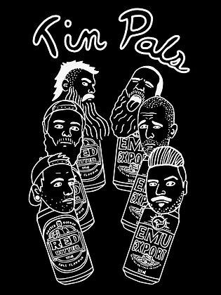 "Howlin' Wolf x Ramblin Rascals ""Tin Pals"" Shirt"