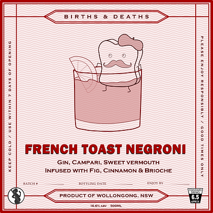 French Toast Negroni