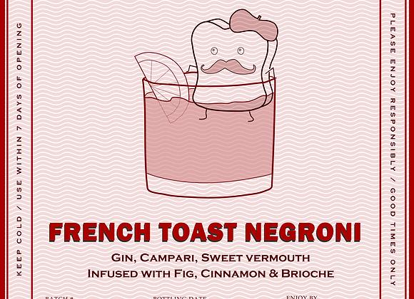 French Toast Negroni