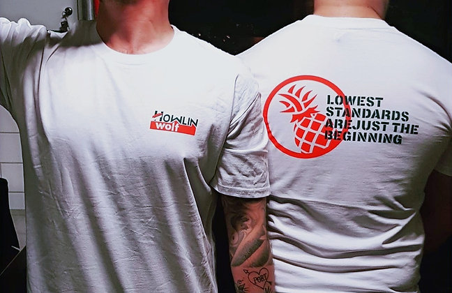 "Howlin' Wolf ""Lowest Standards"" Tee"