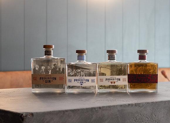 Prohibition Gin Tasting at B&D