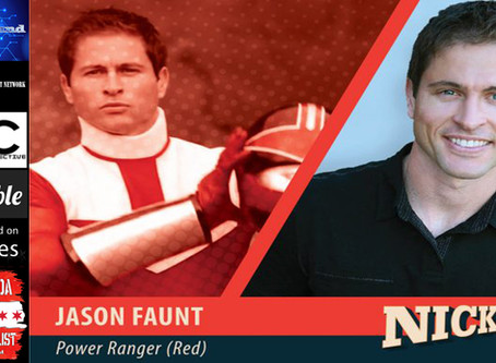 Jason Faunt from Power Rangers: Time Force