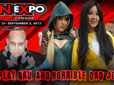Podcast: Cosplay, Gru, and Horrible Dad Jokes