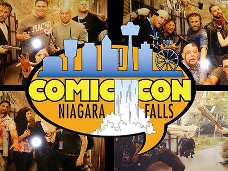 Niagara Falls Comic Con Splash Page