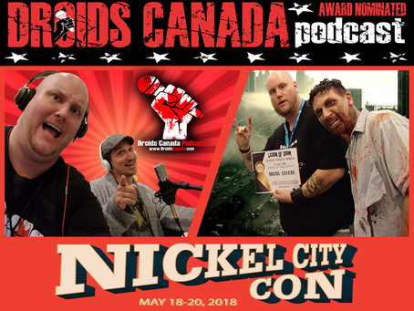 We are coming to Nickel City Comic Con!