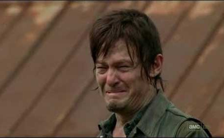 And there is that one time Daryl Dixon got bit.