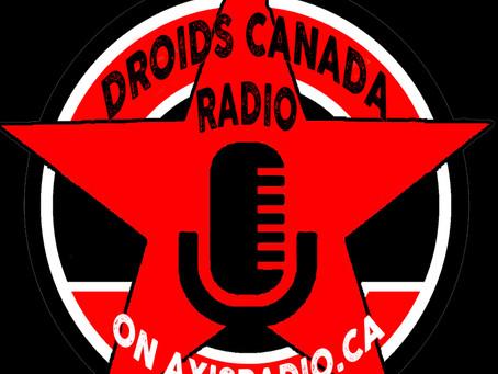 Droids Canada Radio Episode 25