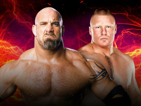 TV Review: Goldberg Vs Lesnar; You weren't robbed