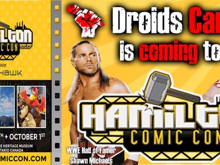 We are coming to Hamilton Comic Con!
