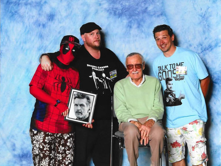 Meeting my Heroes at Fan Expo