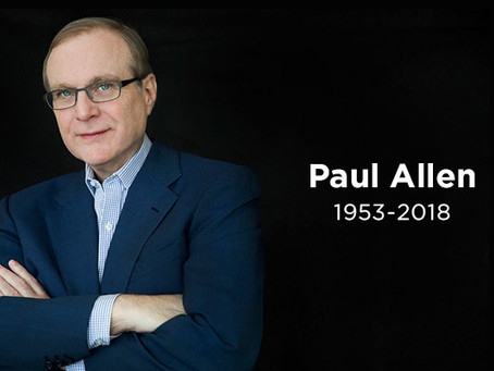 A final thought from Paul Allen...