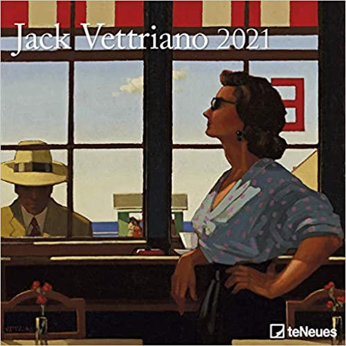 2021 Jack Vettriano Calendar