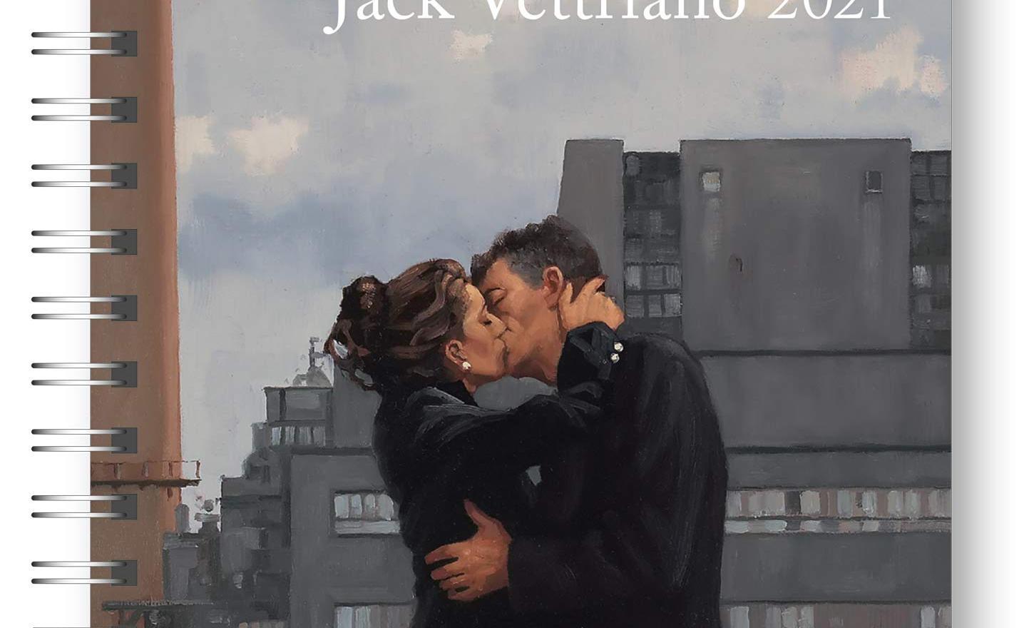 2021 Jack Vettriano Deluxe Diary