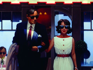 Jack Vettriano - Lunchtime Lovers