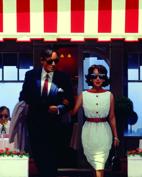 Jack Vettriano Lunchtime Lovers