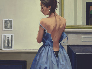 Jack Vettriano - The Blue Gown