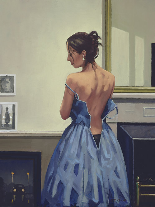Jack Vettriano Print The Blue Gown