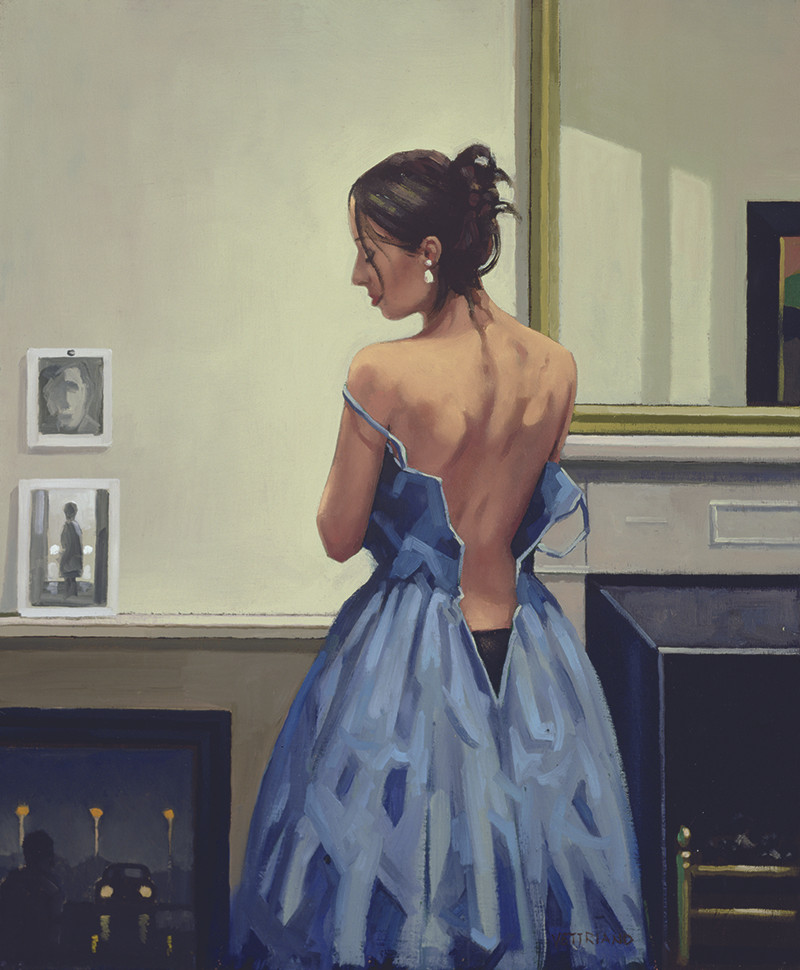 Jack Vettriano The Blue Gown
