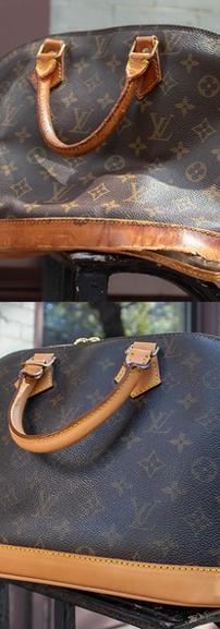 Louis Vuitton Alma Vachetta Leather Restoration