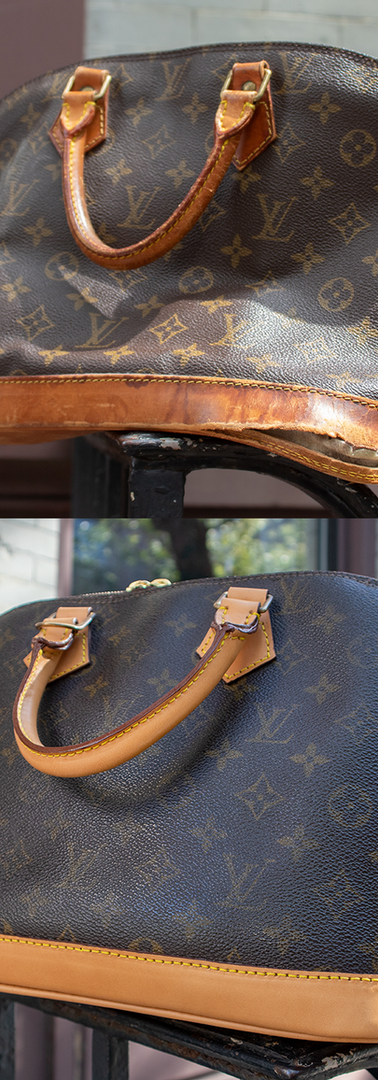 Louis Vuitton Alma Vachetta Leather Restoration