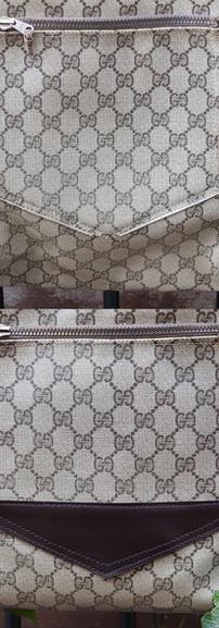 Gucci Leather Restoration Close-up