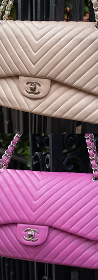 Chanel Bag Recolor Service (Beige to Pink)